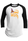 Bad Witch  Halloween Youth Raglan