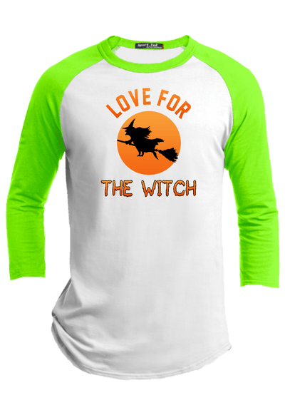 Love for the Witch  Halloween Youth Raglan