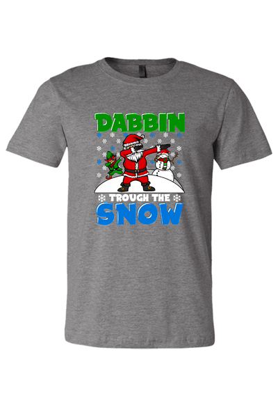 Dabbin thru the Snow Christmas Shirt