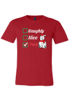 Naughty Nice I tried Christmas Shirt