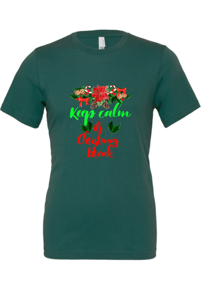Keep Calm is Christmas Break Christmas Shirt