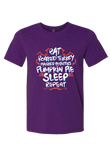 Eat Turkey, Pumpkin Pie Sleep Repeat Christmas Shirt