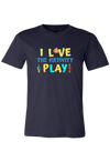 I Love the Nativity Play Christmas Art Shirt