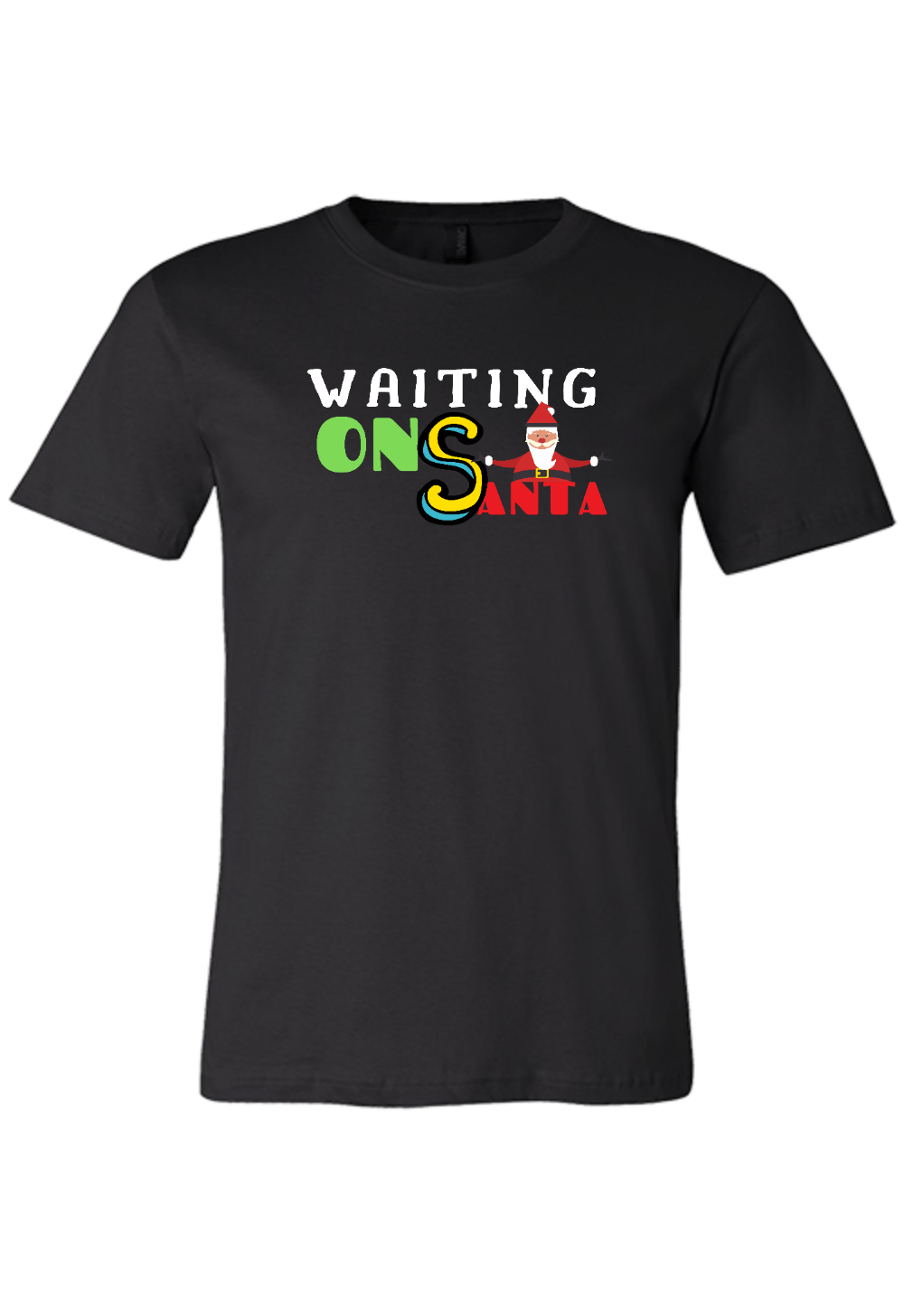 Waiting on Santa Christmas Shirt