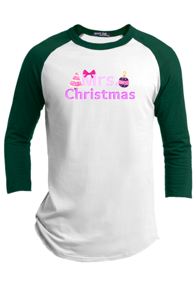 Mrs Christmas Raglan