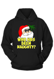 Who has been Naughty Christmas Hoodie