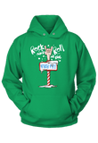 Rock and Roll at the North Pole Christmas Hoodie