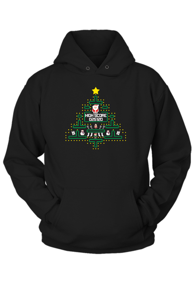 Christmas old fashion Video Game Hoodie
