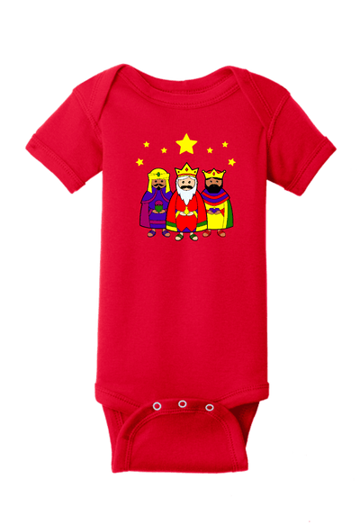 Three Kings Christmas Baby One Piece