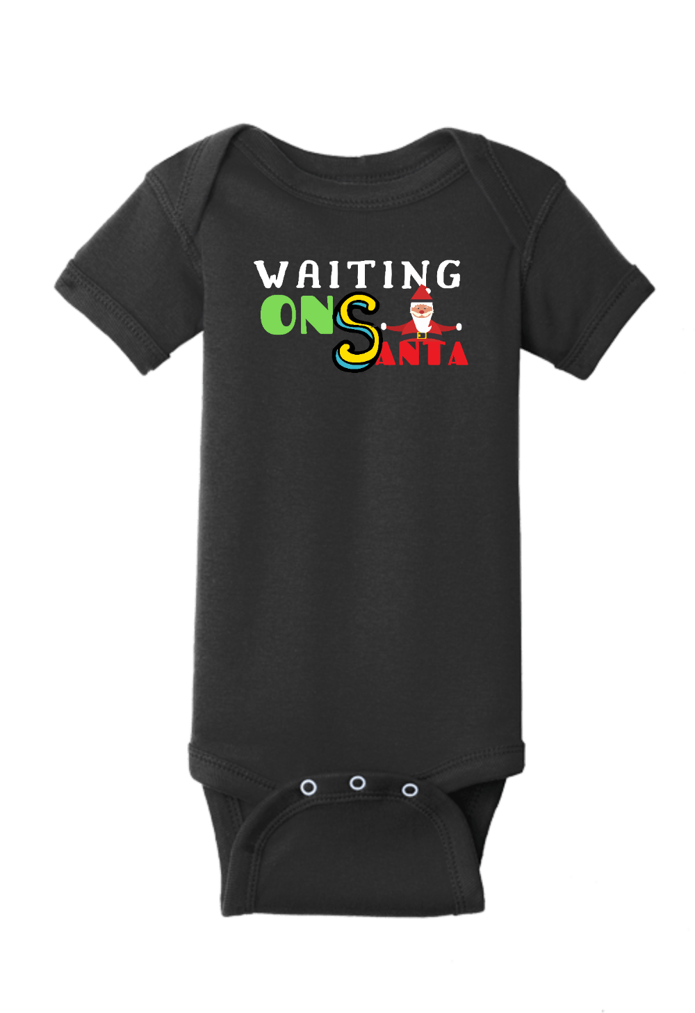 Waiting on Santa Christmas Onesie