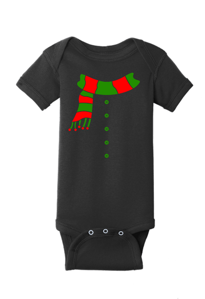 Frosty Snowman Christmas Baby One Piece