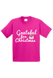Grateful for Christmas Toddler Shirt