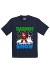 Dabbin Through the Snow Christmas Toddler Shirt