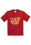I'll Just Have the Breast Please Christmas Toddler Shirt