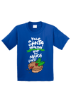 Keep Santa Healthy Eat the Mince Pies Christmas Toddler Shirt