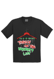 Totally on the Naughty List Christmas Toddler Shirt