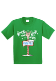 Rock and Roll at the North Pole Christmas Toddler Shirt