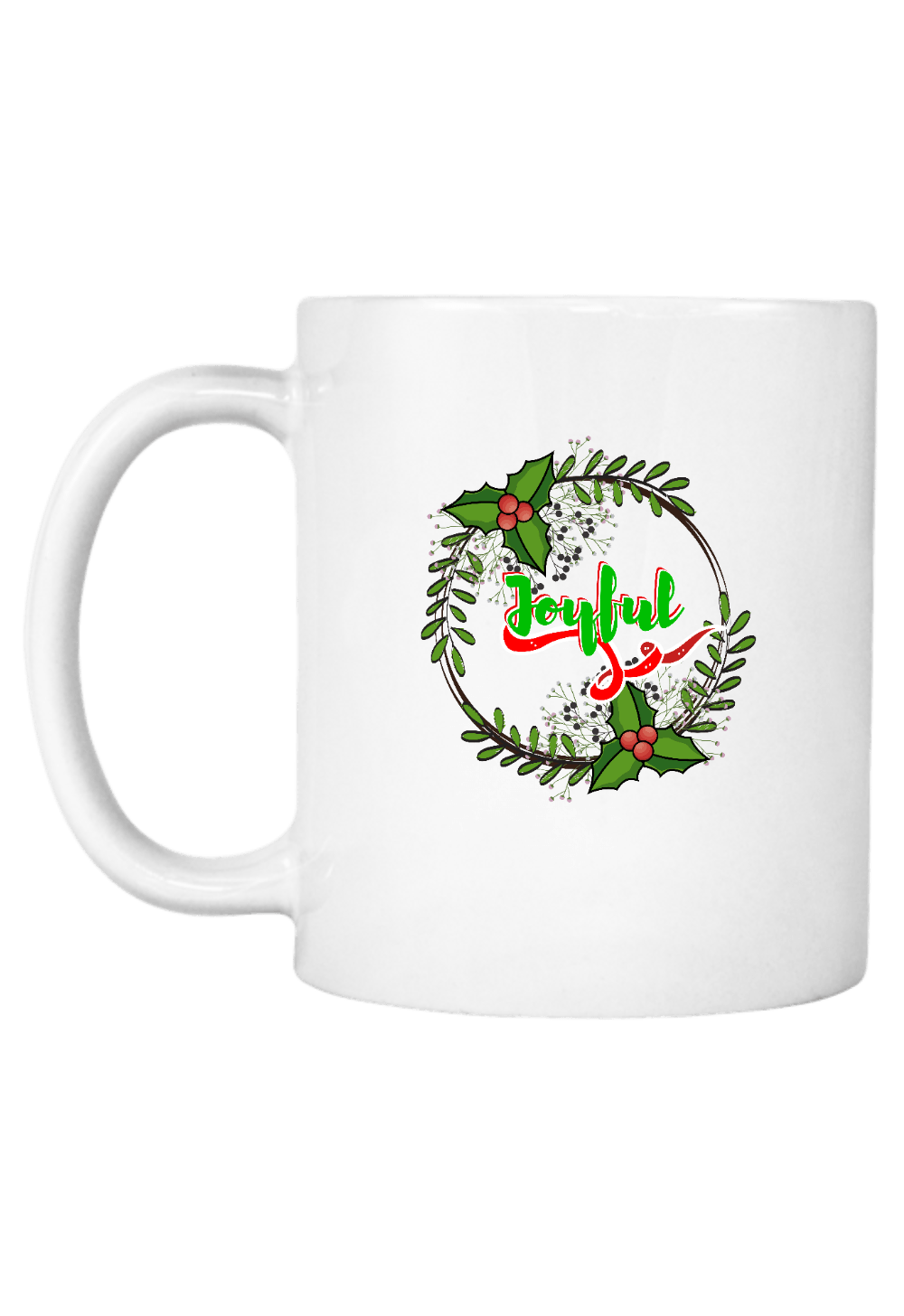 Joyful Christmas Coffee Mug