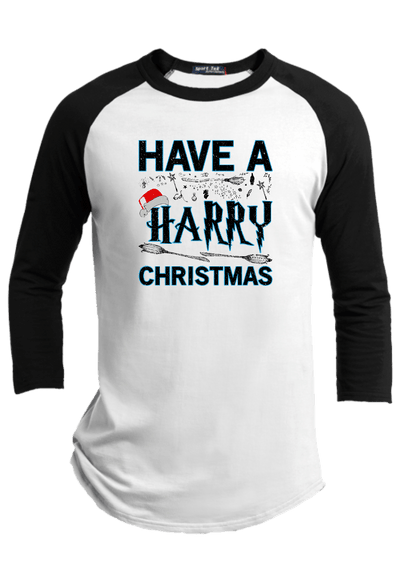 Have a Harry Christmas Raglan