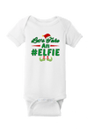 Let's Take an Elfie Christmas Baby One Piece