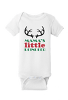 Mama's Little Reindeer Christmas Baby One Piece