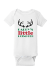Daddy's Little Reindeer Christmas Baby One Piece