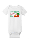 Daddy's Little Elf Christmas Baby One Piece
