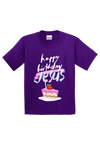 Happy Birthday Jesus Youth Christmas Shirt