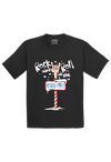 Rock and Roll in the North Pole Christmas Youth Shirt