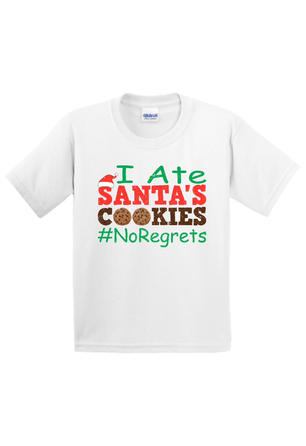 I Ate Santa's Cookies Youth Christmas Shirt