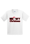 Meowy Christmas Youth Shirt