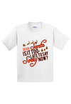 Dear Santa is Late to Say I am Sorry? Christmas Youth Shirt