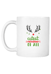 Cutest Reindeer of All Christmas Coffee Mug