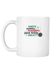 Santa Naughty Just Feels Nice Christmas Coffee Mug