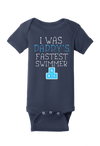 Daddy's Fastest Swimmer Baby One Piece