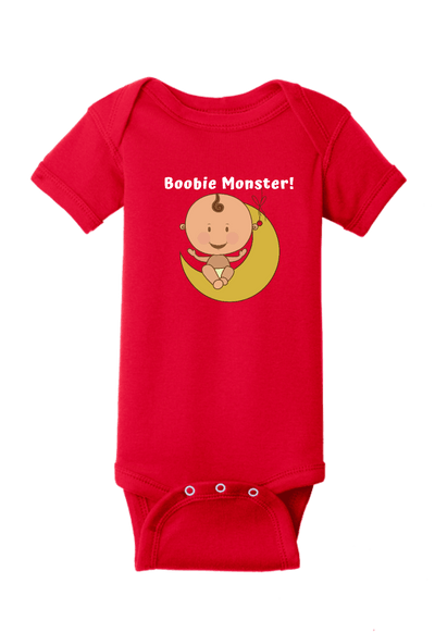 Boobie Monster Baby One Piece