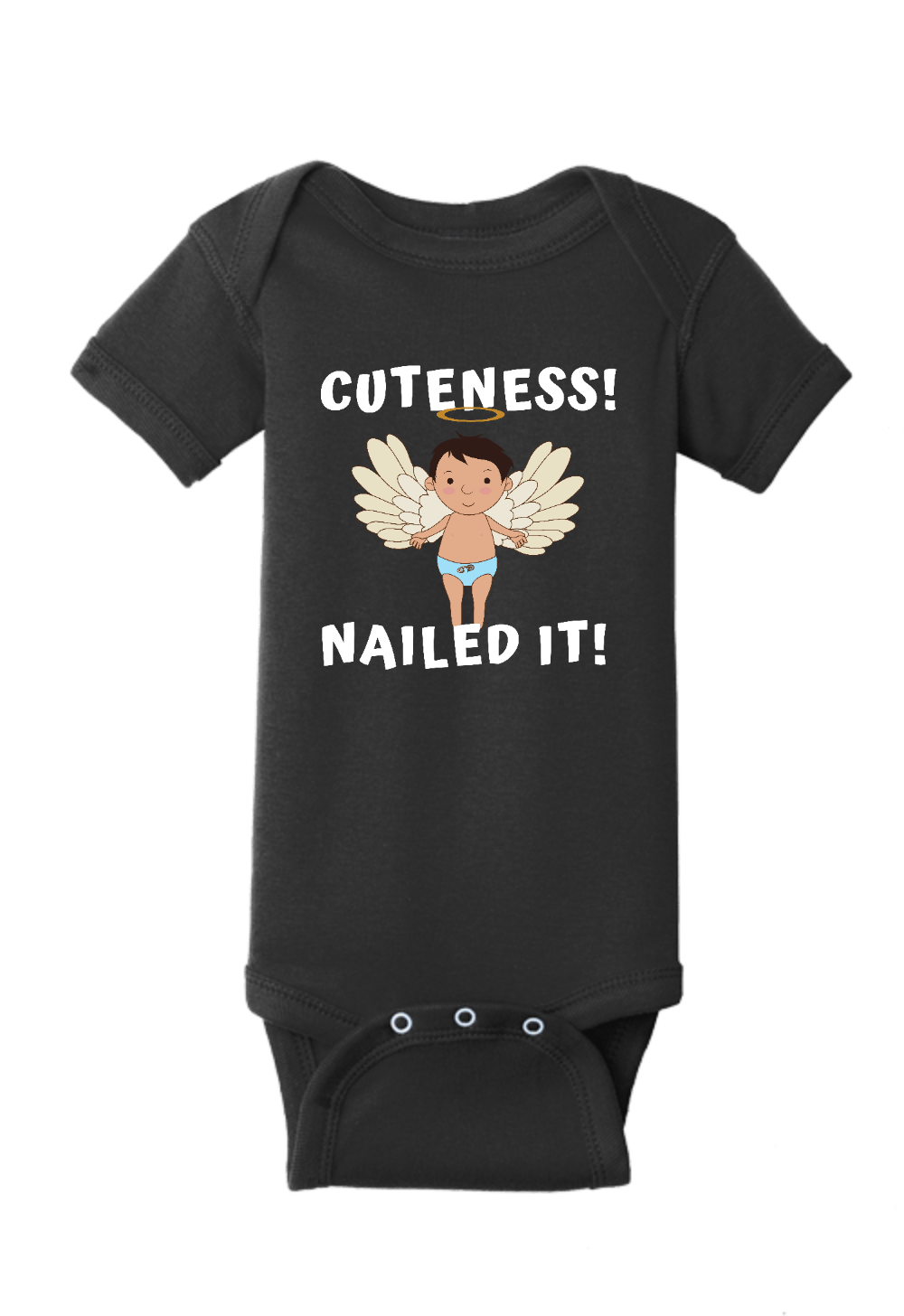 Cuteness Nailed it Onesie