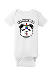 Pandacorn Panda and Unicorn Baby One Piece
