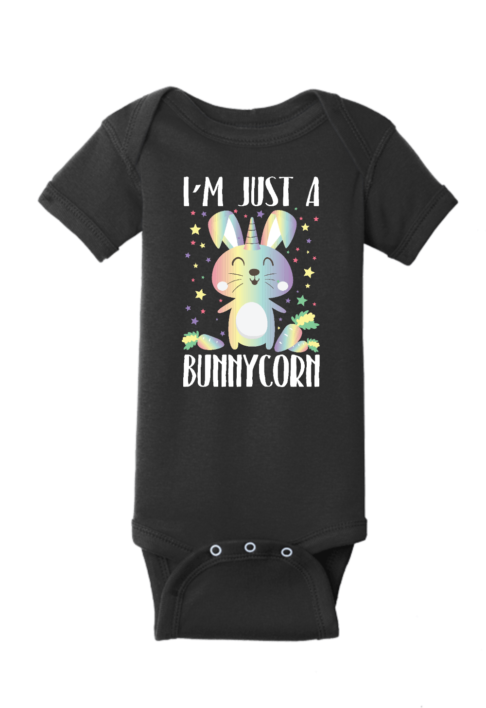 Just a Bunnycorn Unicorn Bunny Onesie