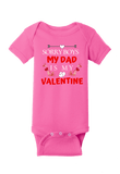 Sorry Boys my Dad is my Valentines Onesie