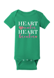 Heart Maker Heart Breaker Onesie