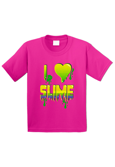 I Love Slime Toddler Shirt