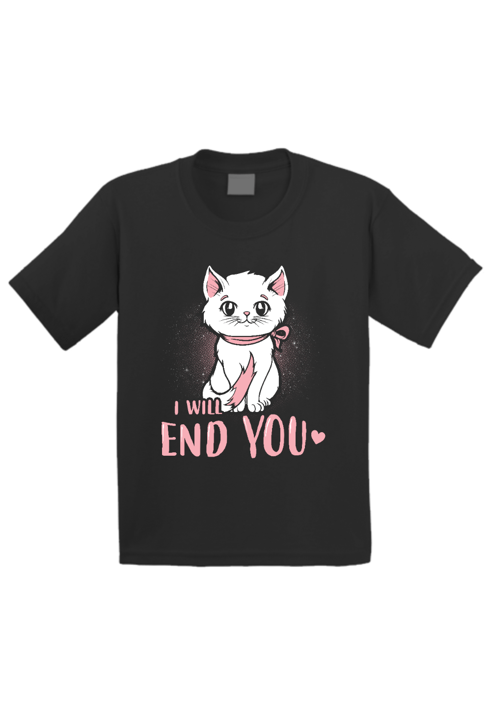 Cat.. I will End you Toddler Shirt