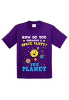 Space Party Planer Funny Toddler Shirt