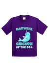 Narwhal Unicorn of the Sea Toddler Shirt