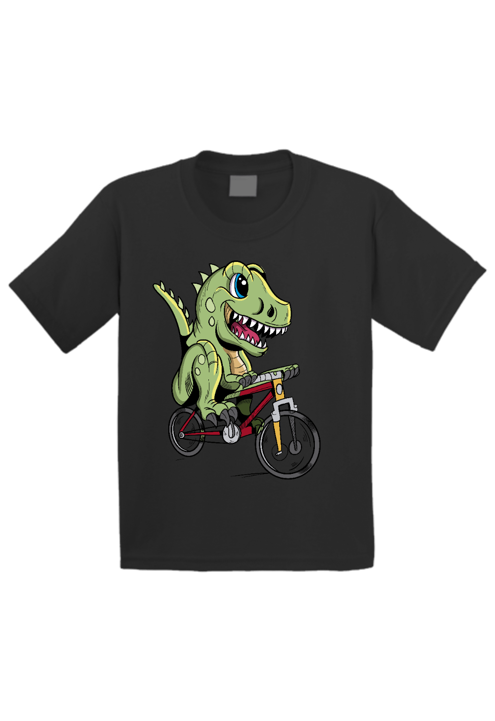 Dinosaur Riding Bike Toddler Shirt