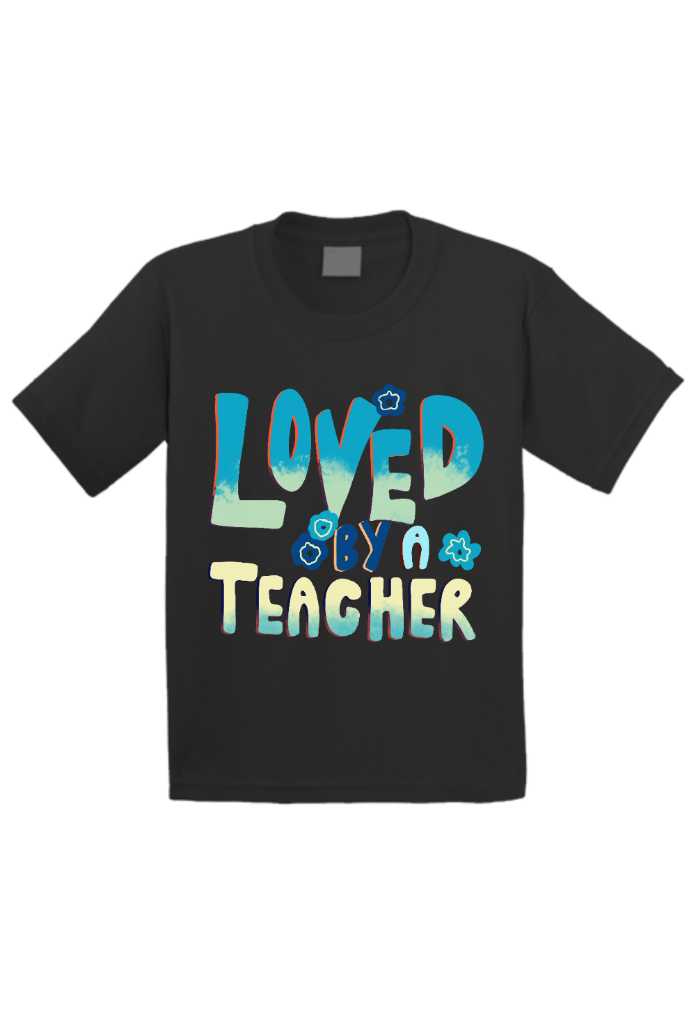 Loved by a Teacher Toddler Shirt