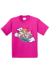 Skate Boarding Cupid Toddler Shirt