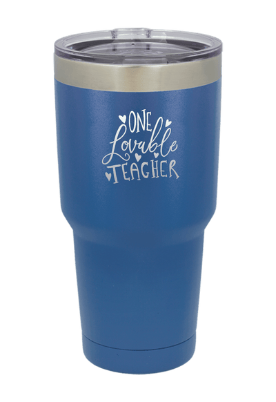 One Lovable Teacher Tumbler