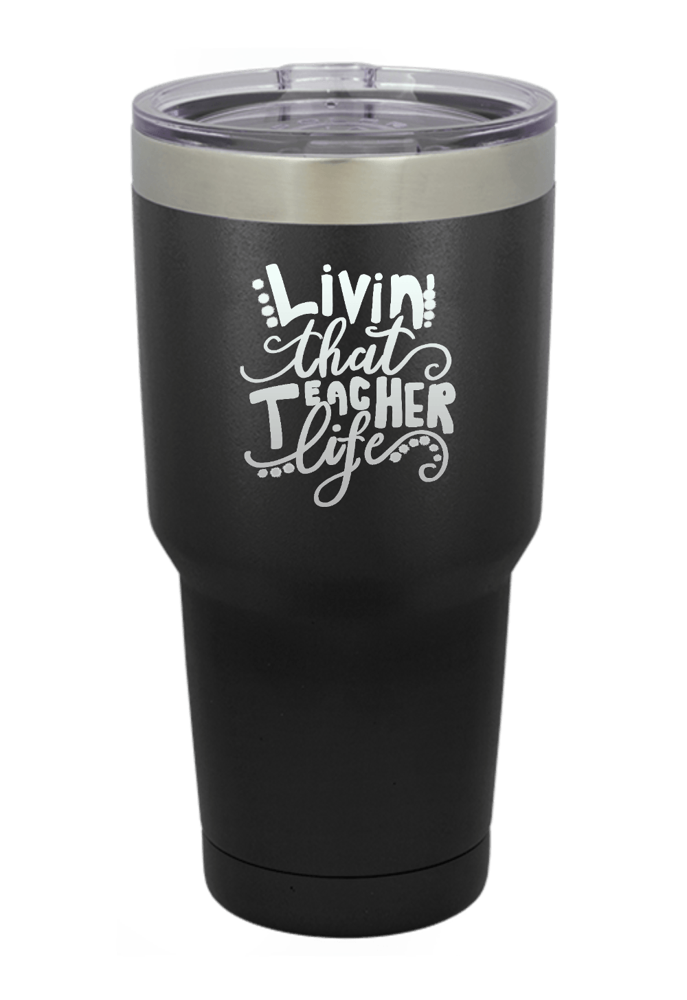 Living that Teacher Life Tumbler